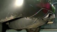Fuel Tank Under Car